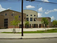 This school was named for Phillis Wheatley. Wheatley was the first African-American person to publish a book in America. Wheatley High School was built in 1949. a replacement facility opened in 2006 just a few blocks away.