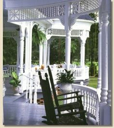 Nothing like sitting on the front porch in the quiet of the morning, reading the paper and enjoying a cup of coffee.