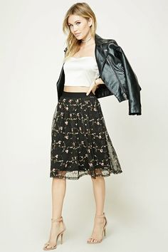 Contemporay Embroidered Skirt