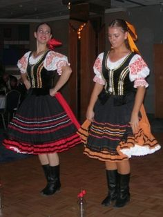 Slovak tradition garb