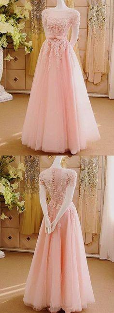 New Arrival Appliques Prom DressLong Prom DressesCharming Prom DressesEvening Dress Prom Gowns Formal Women Dress