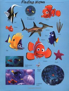 Finding Nemo Sticker Book: DK Publishing: 0635517092455: Amazon.com: Books