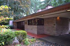 Barnes Residence, Issaquah, Washington_Frank Lloyd Wright