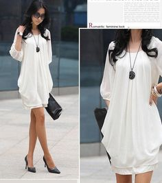 Chiffon Casual Dress