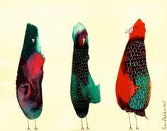3 Birds, Big Red