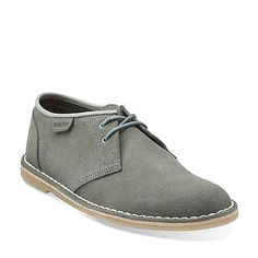 Jink in Slate Blue Suede - Mens Shoes from Clarks