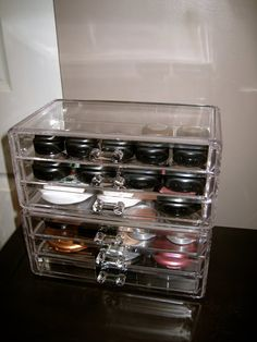from Sassi, who lived it...: Makeup and Accessory Organization Tips
