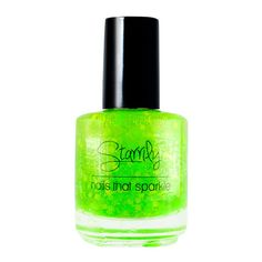 Starrily nail polish zombie blood ($10) ❤ liked on Polyvore featuring beauty products, nail care, nail polish, nails, beauty, makeup, neon green nail polish, mini nail polish and clear nail polish