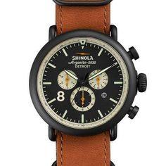 Shinola Runwell Contrast Chronograph 47mm Watch