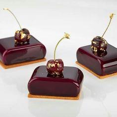 Beaux Desserts, Fancy Desserts, Gourmet Desserts, Plated Desserts, Dessert Drinks, Dessert Recipes, Beautiful Desserts, Mousse Cake, Mini Cakes