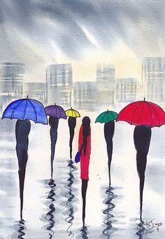 Rainy Day No Umbrella - KJ Carr