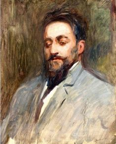 "Twentieth Century British Art by Albert de Belleroche: ""Portrait of Dr O Conner"" Male Portraits, John Singer Sargent, Meeting New People, The Twenties, Traveling By Yourself, British, Modern, Painting, Art"