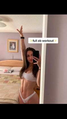 Full Ab Workout, Slim Waist Workout, Gym Workout Tips, Fitness Workout For Women, Butt Workout, Workout Challenge, Workout Videos, Workout Routines, Fitness Motivation
