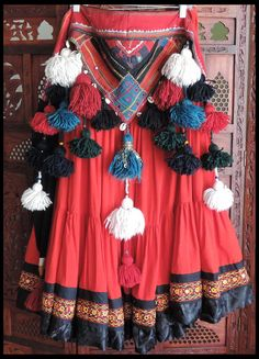 One of a Kind Tassel Belt Tribal Fusion, Tribal Mode, Tribal Style, Belly Dance Belt, Belly Dance Outfit, Belly Dance Costumes, Belly Dancers, Danza Tribal, Tribal Belly Dance
