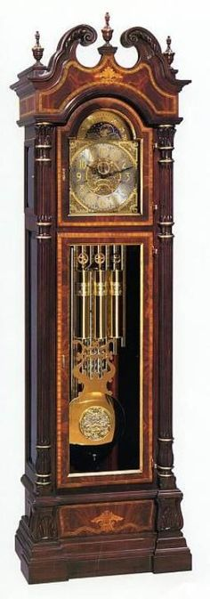 Centennial Grandfather Clock by Sligh clock