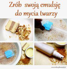 Zapraszam na ciekawy i łatwy przepis do wykonania własnej emulsji do mycia twarzy :). Zapraszam