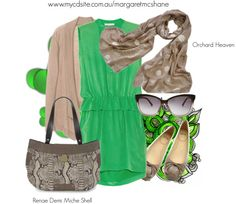 """""""Renae Miche Demi Shell"""" by mcshanes on Polyvore"""