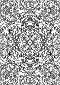 ≡ coloring page Flower