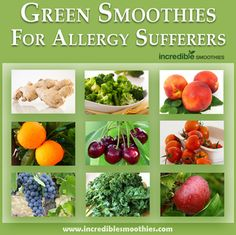 Green Smoothies For Allergy Sufferers - Incredible Smoothies