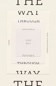 FFFFOUND! | Book Covers - The Way Through Doors (Vintage Contemporaries)