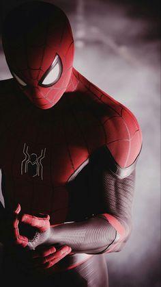 Black Spiderman, Amazing Spiderman, Spiderman Art, Man Wallpaper, Marvel Wallpaper, Spiderman Pictures, Marvel Comics Superheroes, Iron Man Avengers, Superhero Poster