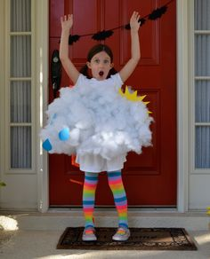 This is one rain cloud you want on Halloween! #halloween #halloweencostumes