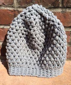 Handmade Beanie Puff Stitch Crochet Hat by LaSetteBello on Etsy