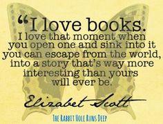Books quote via www.TheRabbitHoleRunsDeep.Blog.com