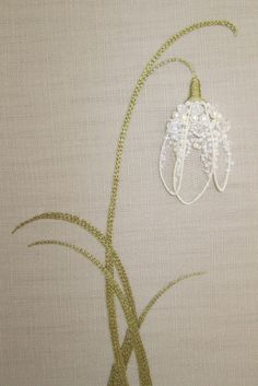 Embroidery - beautifully framed work on this site