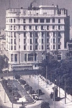 """Acropole Palace"" hotel ~ Patision avenue, Athens (late 20's)"