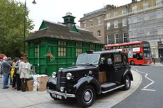 An Obsession With The Green Cabbies' Shelters | Londonist