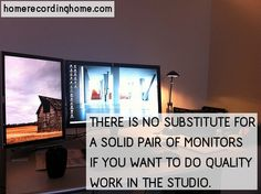 There is no substitute for a solid pair of monitors if you want to do quality work in the studio. http://homerecordinghome.com/gear-guide-five-inexpensive-home-studio-monitors/