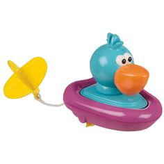 Bath time toy - 6+ Months - Pelican Pull & Go Boat