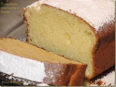 Dolci & Dintorni: Torta sarda con ricotta e limone