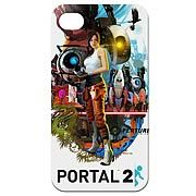 Portal 2 Poster Design iPhone 4 Case - http://lopso.com/interests/ipad/portal-2-poster-design-iphone-4-case/ -   Excellent iPhone 4 case from the Portal 2 video game! Carry around a part of Aperture Science with you. Rep the game, protect your phone! Its an excellent iPhone 4 case from the acclaimed Portal 2 video game by Valve! The design on this iPhone 4 case is of the poster for the Portal 2...