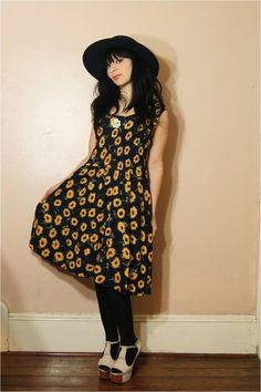 the dress if it was a bit shorter and the hat