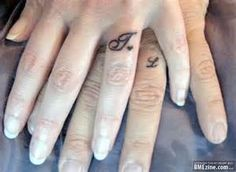 8539a3aab Image detail for -Finger Tattoos on Ring Finger Tattoos Nails Tatoo Tattoo  Wedding Ring Finger