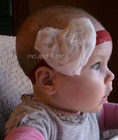 Valentine's Day Heart Headband by MelainaAndMe on Etsy, $8.00