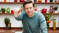 """Jamie Oliver reveals his two-stone weight loss came by cutting meat from his diet. The """"Veg"""" cookbook author recommends eating more plant-based food. Most Nutritious Vegetables, Sources Of Iodine, Chef Jamie Oliver, Seaweed Wrap, Reasons To Be Vegan, British Celebrities, How To Make Sushi, Vegetarian Cookbook, Base Foods"""