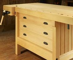 Cabinet Makers Workbench Drawers