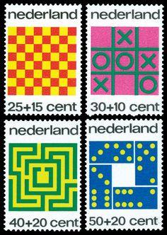 Nederland stamp 1973 - Design Illustration Stamps