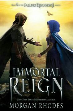 Immortal Reign: A Falling Kingdoms Novel by Morgan Rhodes.In the epic conclusion to the Falling Kingdoms series, sworn enemies must become allies as they fight to save Mytica. Falling Kingdoms, Ya Books, Books To Read, Reading Online, Books Online, Bon Film, Beautiful Book Covers, Book Fandoms, Fantasy Books
