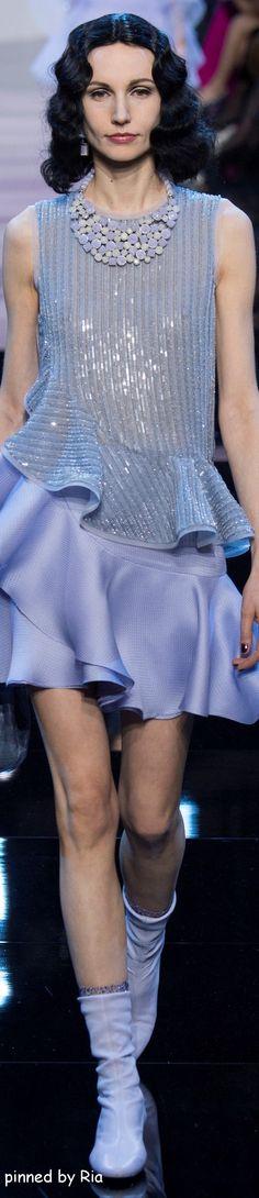 Armani Prive` Spring 2016 Couture l Ria