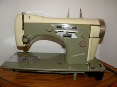 Vintage Necchi Supernova Sewing Machine...got mine free and LOVE it....they are the best..