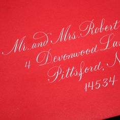 Envelope Addressing  Calligraphy by Hand  by ArtfulCelebrations, $2.40