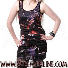 Vestido Star Wars Universe XT3875 ¡Echa un vistazo a nuestra colección de ropa gótica y corsets! Visítanos!