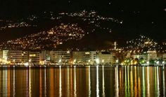 Volos by night Beautiful Islands, My Happy Place, Greece, Night, Places, Greece Country, Lugares