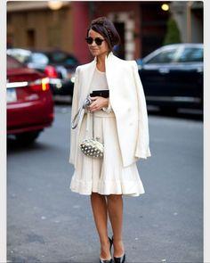 Wear white whenever!