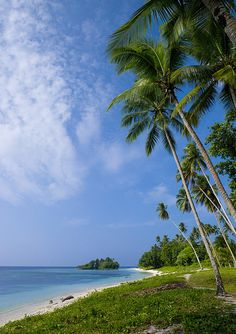 Kaibola beach, Trobriand islands (aka the Kiriwina Islands) - Papua New Guinea