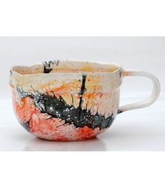 Mug with big splash